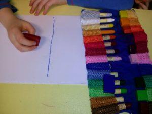 Píšeme voskovými bločky a voskovkami